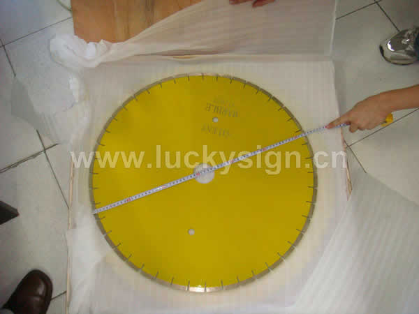 diamond continuous saw blade