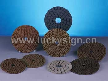 polishing pads for wet working